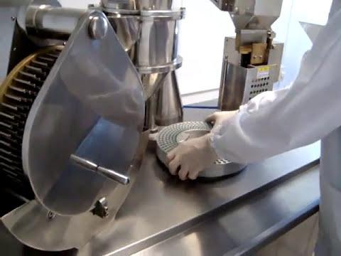 Mquina Encapsuladora semiautomatica