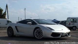 Lamborghini LP560-4 Drives Off