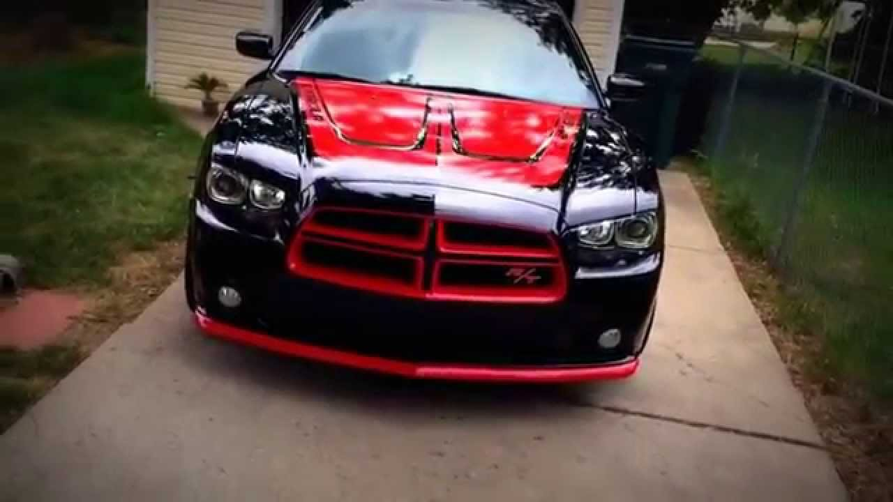 Notorious Joe S Custom Black N Red 2014 Dodge Charger R T