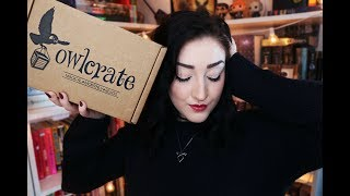 OWLCRATE JANUARY UNBOXING l Fearsome Fairy Tales.