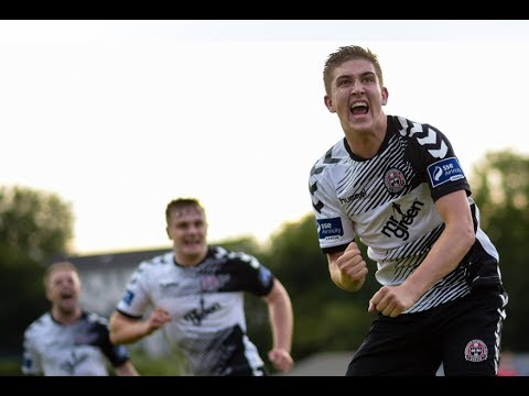 Oscar Brennan equaliser goal for Bohemians FC against St Pats