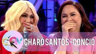 Vice Ganda asks slam book questions to Charo Santos-Concio   GGV