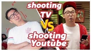 Shooting TV vs Shooting YOUTUBE