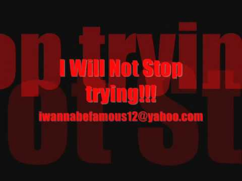 Boomarang-wont stop trying(UNsigned artist)