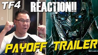 Transformers Age of Extinction PAYOFF Trailer REACTION - [TF4 News #130]
