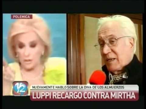 Federico Luppi cargó nuevamente contra Mirtha Legrand