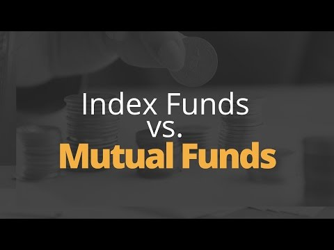 Index Funds vs. Mutual Funds