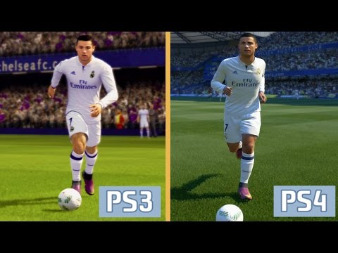 FIFA 17 - PS3 vs PS4 Graphics and Gameplay Comparison