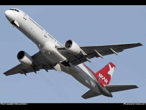 Страшный полет из Египта. Boeing 757. Crazy flight Egypt.