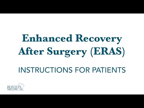 Enhanced Recovery After Surgery (ERAS) video brochure