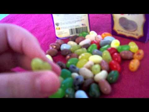 MOST THOROUGH Harry Potter Bertie Bott's Every Flavor Beans 2011 1.2 Oz Box Review (Part 1/2)