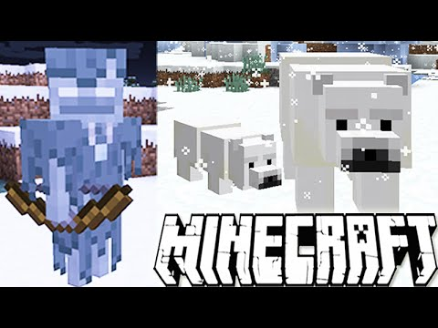 MINECRAFT 1.10 UPDATE NEWS: POLAR BEARS, GHOST SKELETONS & CUBS!