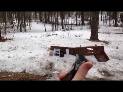 Травматический пистолет МР-80-13Т (2 часть) тест на пробитие