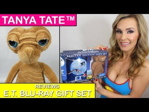 TANYA TATE™ E.T. Extraterrestrial Walmart Blu-Ray Gift Set Review