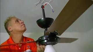 como montar e instalar um ventilador de teto passo a passo