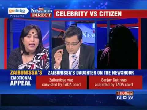 The Newshour Direct: Sanjay Dutt v/s Zaibunnisa Kazi