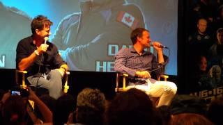 Joe Flanigan/David Hewlett Chicago Convention 2013