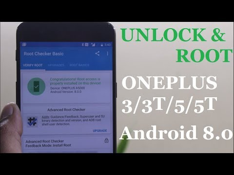 UNLOCK & ROOTING Oneplus3/3T/5/5T with Magisk Running Android 8.0 OREO!!!!!