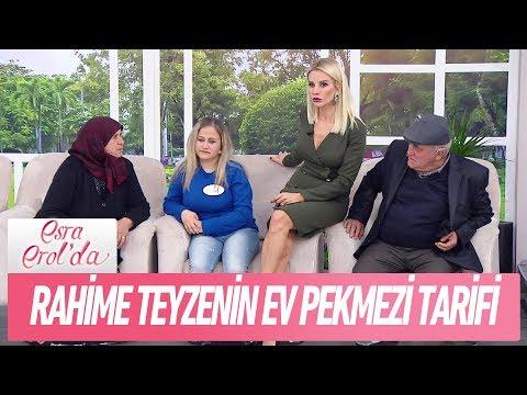 Rahime Teyzenin ev pekmezi tarifi...- Esra Erol'da 5 Aralık 2017