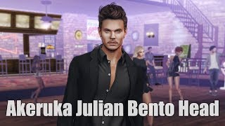 Akeruka Julian Bento Mesh Head in Second Life