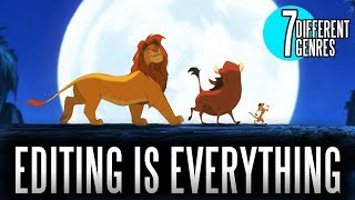 THE LION KING BUT IT'S A NATURE DOCUMENTARY