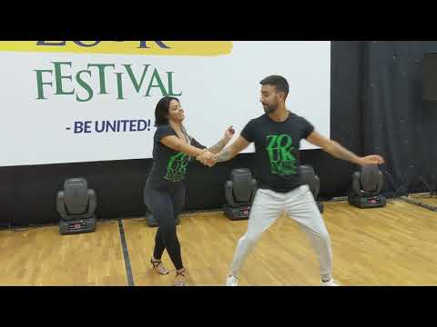 WZF2019: Thanya & Leo in Friday class demo ~ Zouk Soul