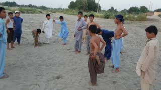 Funny Pathan boys game at Dallo khel Lakki Marwat Kpk Pakistan