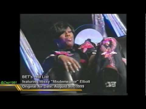 Missy Elliott on BET's HitList (1999)