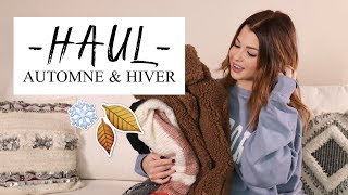 HAUL & TRY-ON : WINTER IS COMING ! 🍂❄️