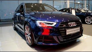 2019 New Audi S3 Sportback 2 0 TFSI quattro Exterior and Interior
