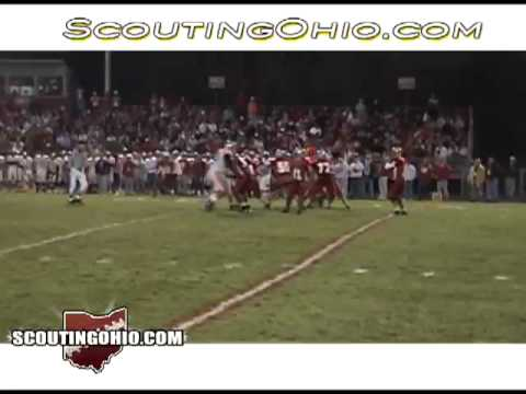 2008 Canton South vs Canal Fulton Northwest Footall Video