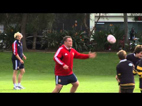 British & Irish Lions visit Sydney Grammar School