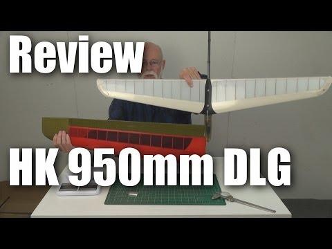 Review: HobbyKing 950mm DLG
