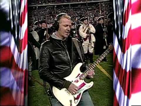 Gary Hoey National Anthem Gillette Stadium.mp4