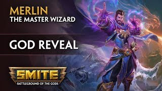 SMITE - God Reveal - Merlin, the Master Wizard