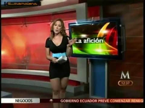 Carolina Pratos y su variedad de minifaldas