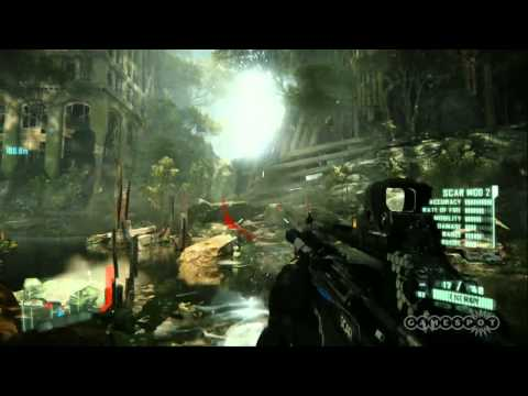 Crysis 3 - Fulton Hydra Dam Gameplay Video