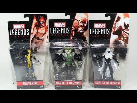 Marvel Legends Action Figures Moon Knight Maestro Wolverine