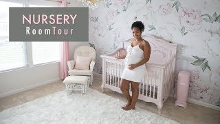 BABY GIRL NURSERY TOUR!!