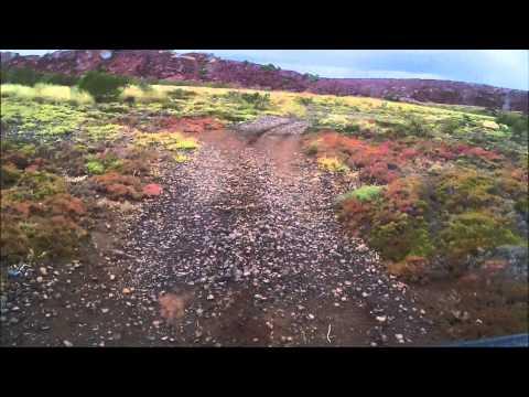 EarthCruiser on Burrup Peninsula, Western Australia