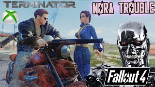 Fallout 4 - MARKED FOR TERMINATION - Nate want to Terminate Nora - Terminator-Inspired Mod!