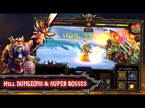 Epic Heroes War: Gods Battle APK Cover