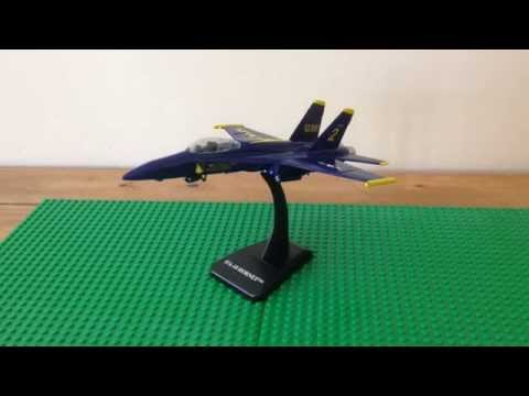 Review: New-Ray Sky Pilot Blue Angels F/A-18 Hornet   The Model Garage