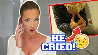 Calling My Ex PRANK on BF (He CRIED)