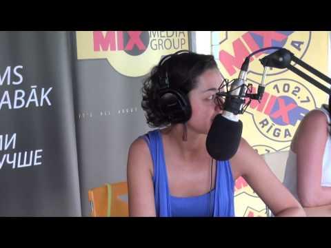 MIX TV: Comedy Сlub 2014: В гостях у радио MIX FM Марина Кравец