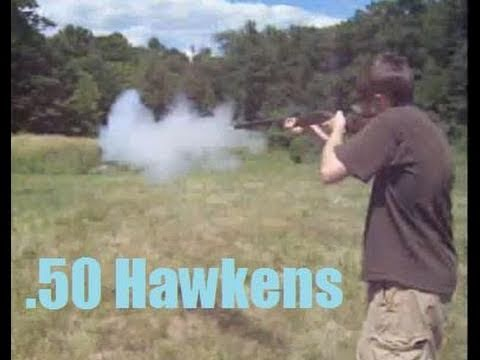 Shooting a Traditions St Louis Hawken .50 cal Rifle