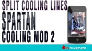 Traxxas Spartan Cooling Mod 2-Split Cooling Lines