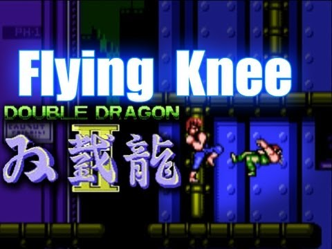 Flying Knee Montage - Double Dragon 2 NES
