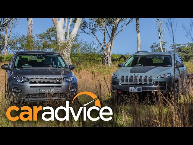 2015 Land Rover Discovery Sport v Jeep Cherokee ... - YouTube