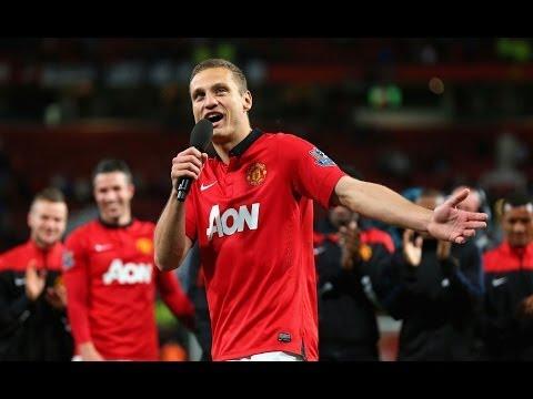 Nemanja Vidic bids farewell to Manchester United fans